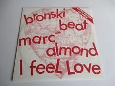Bronski Beat With Marc Almond I Feel Love Megamix Vinyl Ltd Edt UK Import NM+