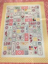 PATTERN - Sew Laugh Love - pretty stitchery PATTERN - Leanne's House