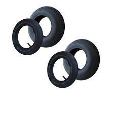 2 Stück Schubkarren Reifen + Schlauch 400 x 100 4.80/4.00-8 Rille