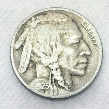 New ListingKey Date: 1925 D * Buffalo / Indian Nickel