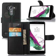 Custodia FLIP cover NERA LG G4s H735 case stand+tasche libretto BOOKLET G4 Beat