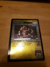 WWE Raw Deal CCG Stone Cold Steve Austin Stone Cold Stunner !! FREE SHIPPING !!