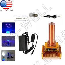 Music Tesla Coil Plasma Speaker Transmission Sound Solid Power Model 35 Cable