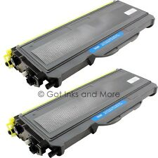 2/PK Premium Black Toner Cartridge Compatible for Brother TN-360