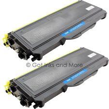 2/PK Premium Black Toner Cartridge Compatible for Brother TN-360