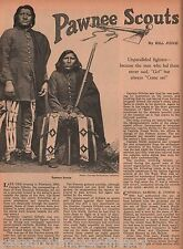 Pawnee Indian Scouts Of The U. S. Army History +Bayhyle*,Crooked Hand*,Red Cloud
