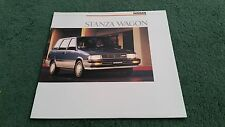 1987/1988 modelo Nissan stanza wagon 2.0 2WD/4WD Grande EE. UU. FOLLETO Prairie
