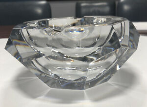 Baccarat Crystal Ash Tray (France) Used