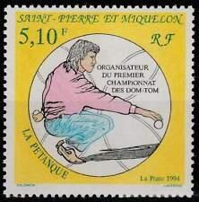 Saint Pierre et Miquelon postfris 1994 MNH 671 - Petanque