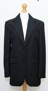 Zara Black Oversized Blazer Size s Lined BNWOT
