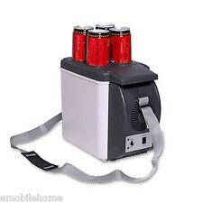 HUANJIE 12V 6L Car Refrigerator Portable Cooler Warmer Truck Electric Fridge