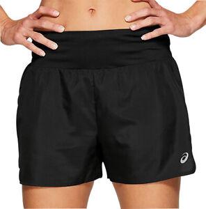 Asics 3.5 Inch Womens Running Shorts - Black