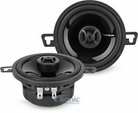 "2) ROCKFORD FOSGATE P132 3.5 "" 3.5-INCH 2-WAY CAR AUDIO POWER COAXIAL SPEAKERS"