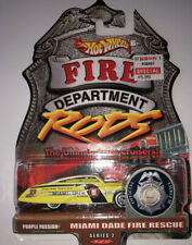 2000 Hot Wheels Fire Rods Series #2,  Purple Passion, Miami Dade Fire Rescue
