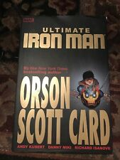 Ultimate Iron Man (2006) Marvel Comics Hardcover Tpb 1st Fine