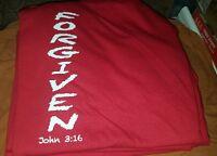 Forgiven John 3:16 Christian T-shirt  ( New)