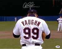 Charlie Sheen Autographed 11x14 Major League Vaughn Signed Photo - PSA/DNA