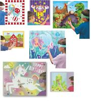 Childrens Kids Party Games - Pin The Tail on The Donkey etc. Sticker Sheets