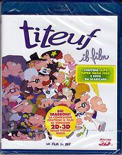 Blu-ray 3D + 2D **TITEUF ~ IL FILM** nuovo 2013