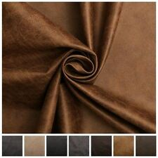 By the Metre Faux Leather Upholstery Craft Fabrics