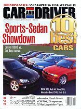 Car and Driver Magazine January 2001 Ford Explorer Eddie Bauer 4x4, Auda A4 2.8