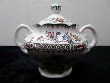 Spode Design Chinese Rose Feinsteinzeug Keramik England Zuckerdose