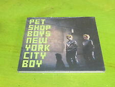 PET SHOP BOYS - NEW YORK CITY BOY  !!! RARE PROMO CD NEUF SOUS CELLO!!!