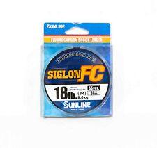 Sunline Siglon FC Fluorocarbon 100% Line 50m 18lb Diameter 0.35mm (8333)