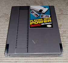 """Nintendo """"Playing With Power"""" Hardcover Limited Edition Strategy Guide! Licensed"""