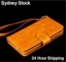 Leather For iPhone 6 Plus Mobile Phone Wallet Cases with Clip