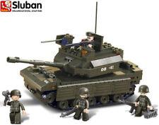 Sluban Army Model B6500 Battle Tank Soldier Building Block Bricks Military Toy