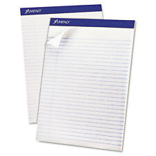 Ampad Recycled Writing Pads 8 1/2 x 11 3/4 White 50 Sheets Dozen 20170