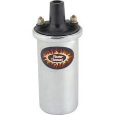 Flame Thrower Ignition Coil - Chrome - 12 Volt - Edsel V8 58-11281-1