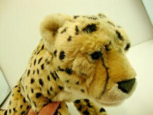 "Toys R Us FAO Schwarz 28"" Long Cheetah Plush Stuffed Animal Jungle Cat"