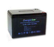 12Ah LiFePo4 Battery 12.8V Lithium Iron Phosphate 12V Heavy Duty Long Life