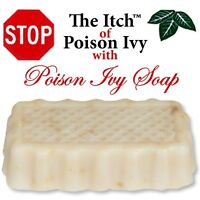 Jewelweed Poison Ivy Oak Sumac Soap - Removes the Urushiol - Stops the Itch !