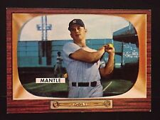MICKEY MANTLE 1996 Topps 1955 Reprint SWEEPSTAKES Back Card HTF New York Yankees