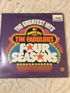 Vintage 4 LP Record Set Frankie Valli And The Fabulous Four Seasons.1974 RARE!!