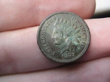 1879 Indian Head Cent Penny- Fine/VF Details