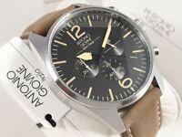 Orologio Cronografo Uomo ANTONIO GIOVINE Italian Design Men's Chrono Watch Nuovo