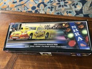 MIB Erica Enders SIGNED 1:24 Diecast NHRA Slammers Pro Stock DRAG RACE FUNNY CAR