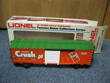 Lionel # 6-7810 Orange Crush box car in original box