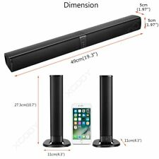 3D Surrounded Sound Bar Bluetooth Soundbar Wireless Detachable Stereo Speaker