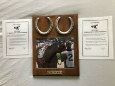The Tin Man Front Horseshoes Worn In The 2007 American Invitational Handicap