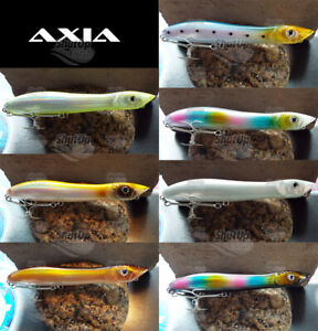 Axia Canine Patchinko Style Topwater Bass Fishing Lures 135mm 26g