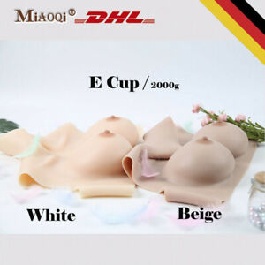 E Cup Silicone Fake Breast Forms Fake Boobs Breastplate for Drag Queen Crossdres