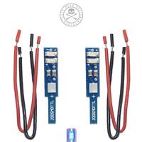 Technics SL-1200/1210 LED SMD Target Lights in Blue, pair Jesse Dean Designs