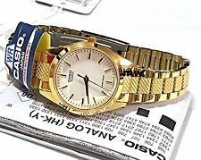 100% Genuine Casio LTP-1274G-7A Gold Tone Metal Analog Ladies Quartz Watch NEW