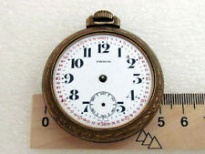 Repairing or for Spare Parts Pierce Antique Swiss Pocket Watch for