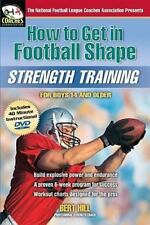 (New) How to Get in Football Shape - Strength Training by Bert Hill (Book + DVD)